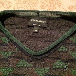 Men's Giorgio Armani sweater ,size L